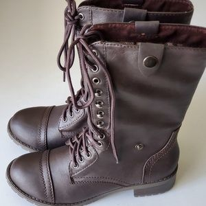 SODA Combat Lace Boots